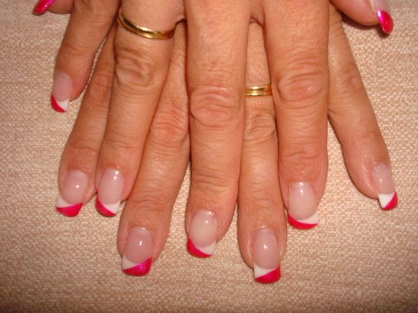Pose De Gel French Et Decoration D Ongles