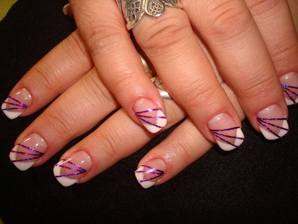 deco ongles trait